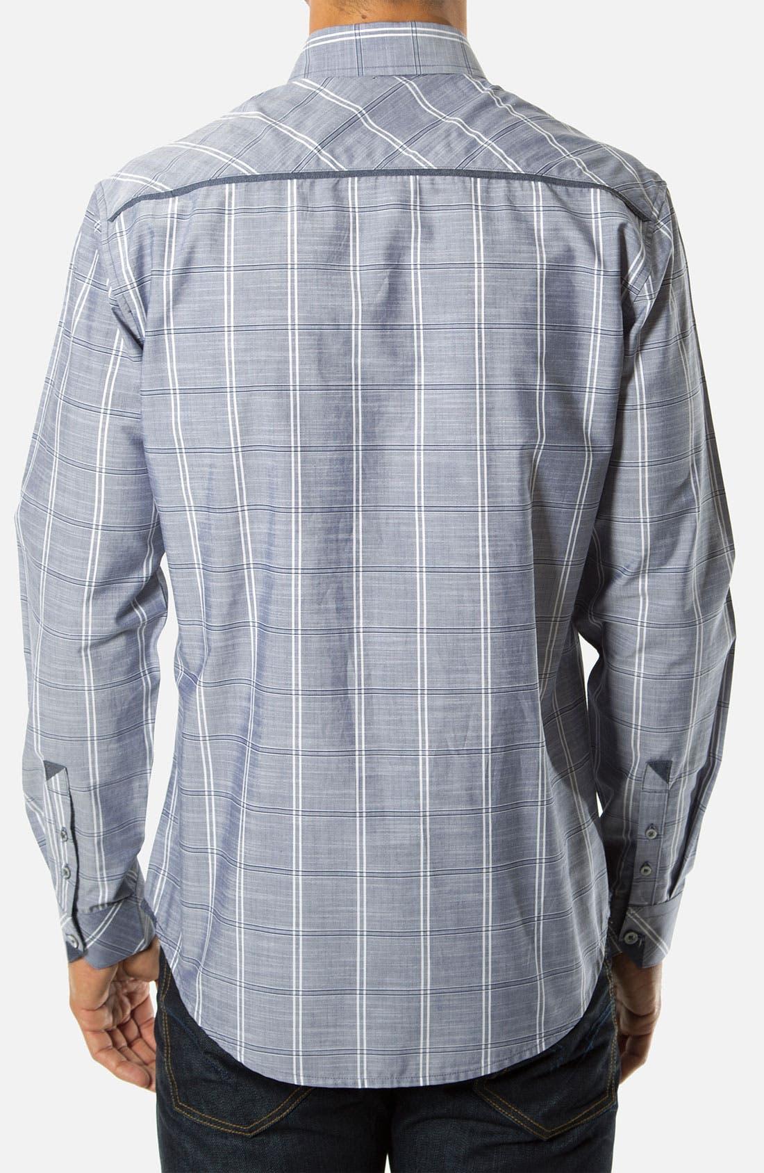 Alternate Image 2  - 7 Diamonds 'Day Tripper' Woven Sport Shirt