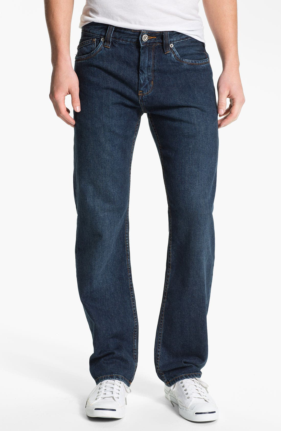 Alternate Image 1 Selected - Tommy Bahama Denim 'Steve Standard Fit' Jeans (Dark)