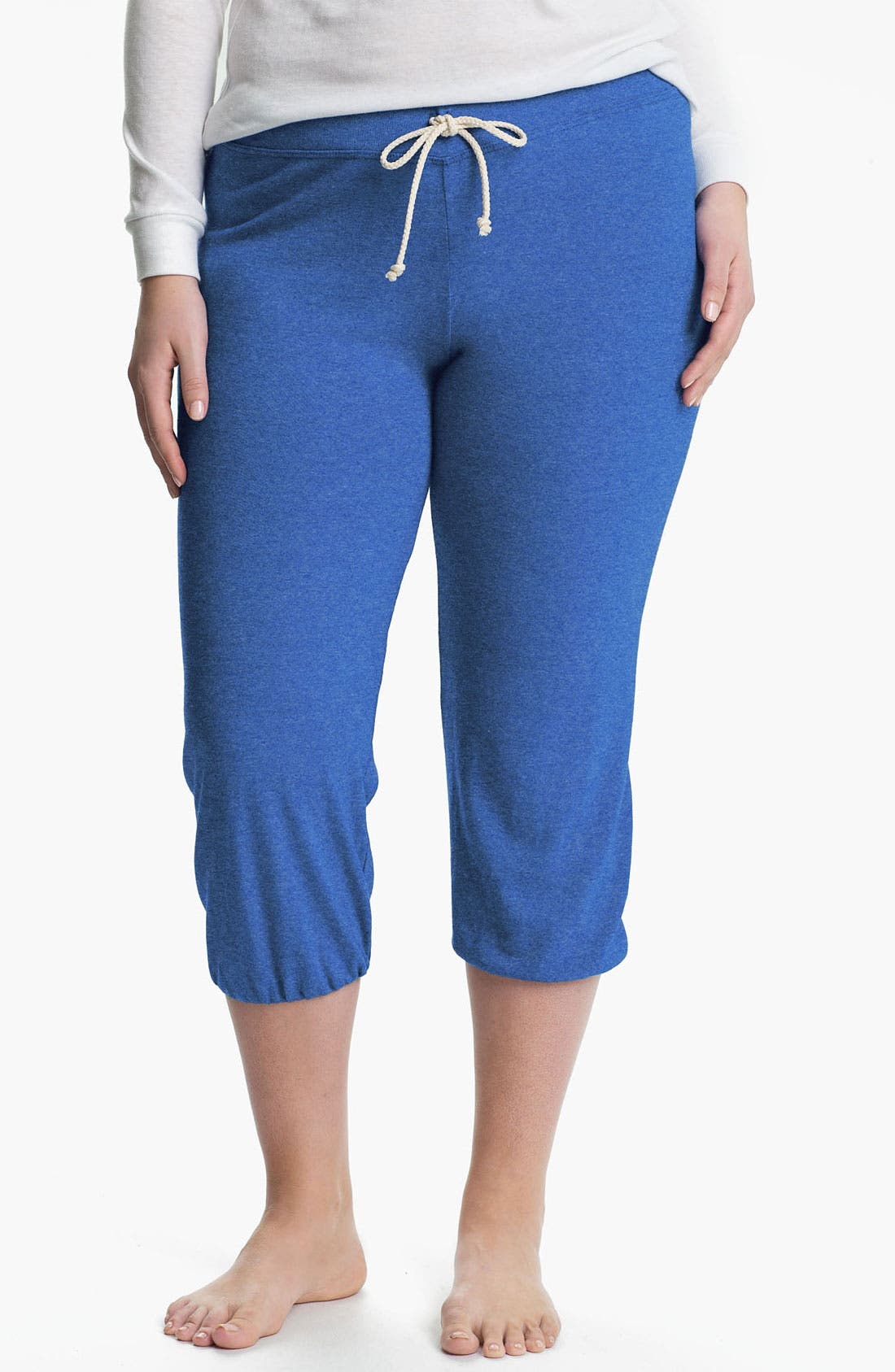 Main Image - Nation LTD 'Medora' Capri Sweatpants (Plus)