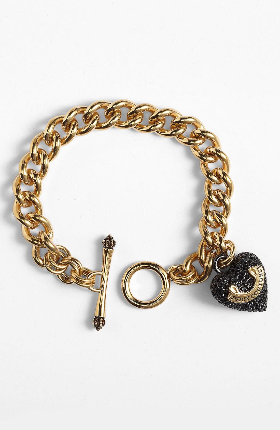 Main Image - Juicy Couture Boxed Link Bracelet