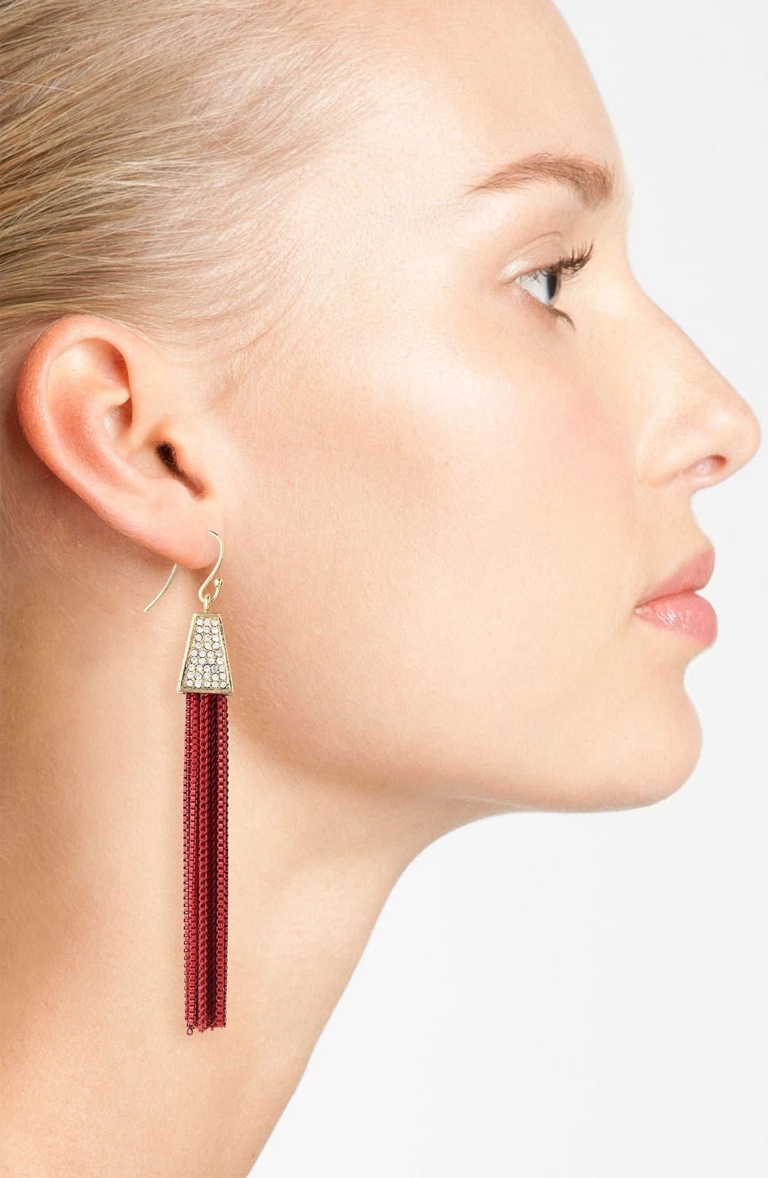 Alternate Image 2  - Vince Camuto Tassel Earrings