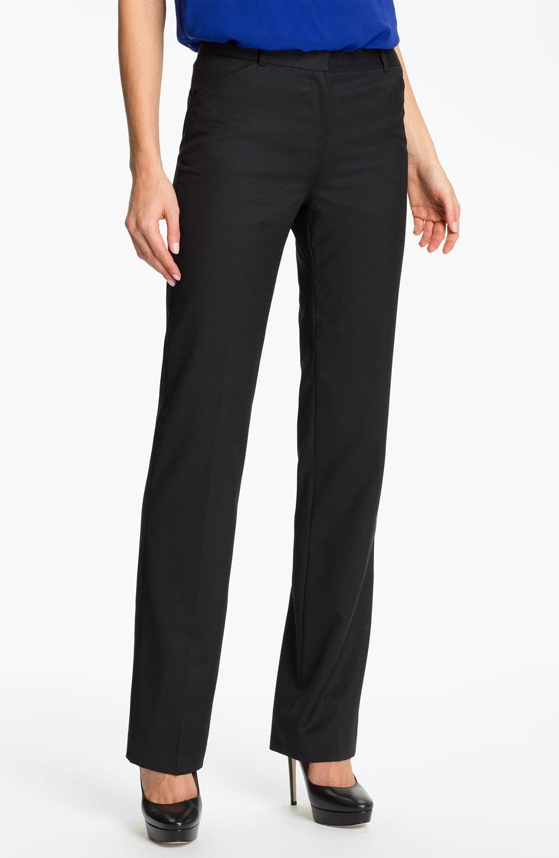 Alternate Image 1 Selected - Ted Baker London 'Agnet' Suit Trousers