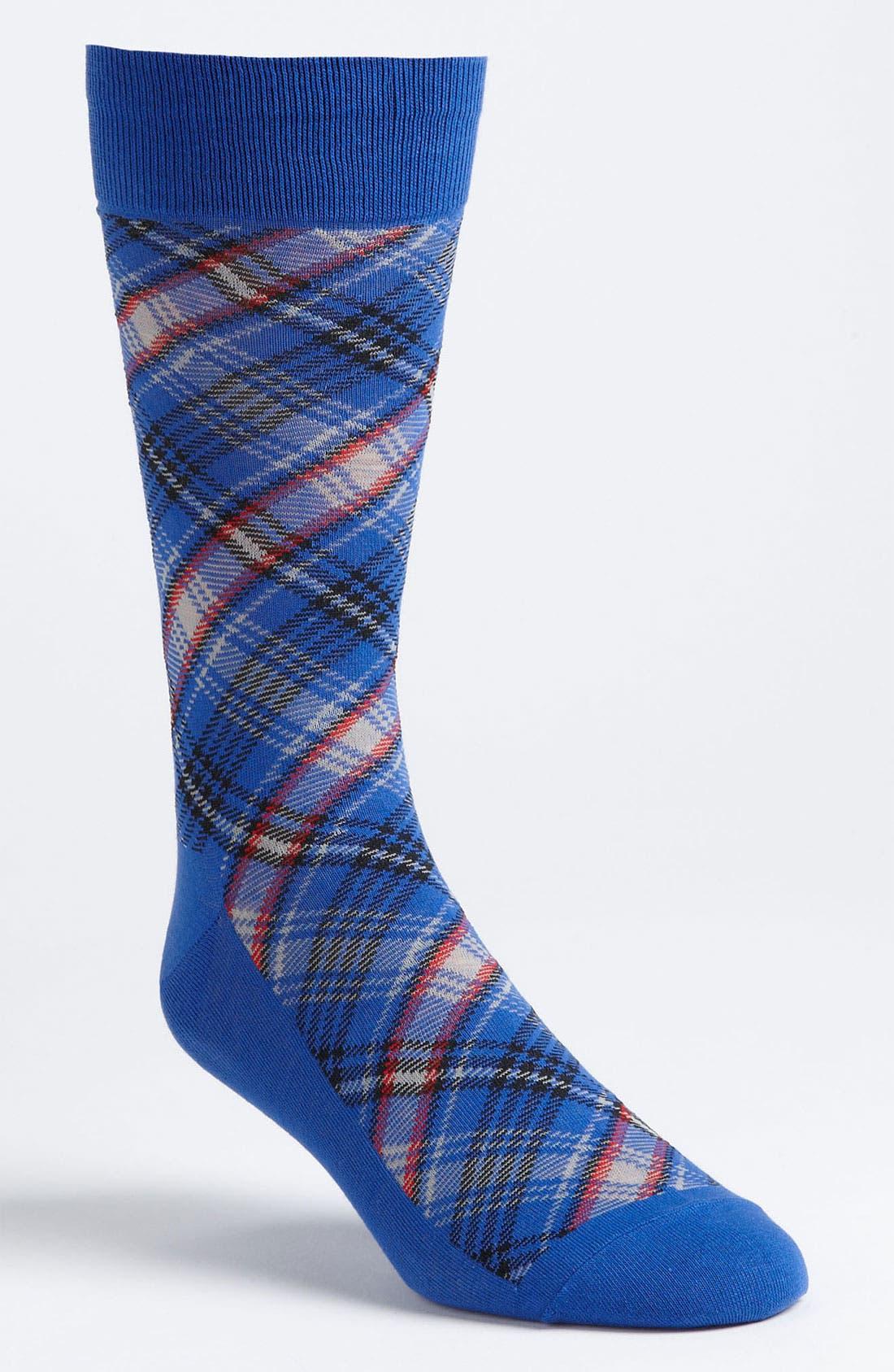 Main Image - Cole Haan Tartan Socks