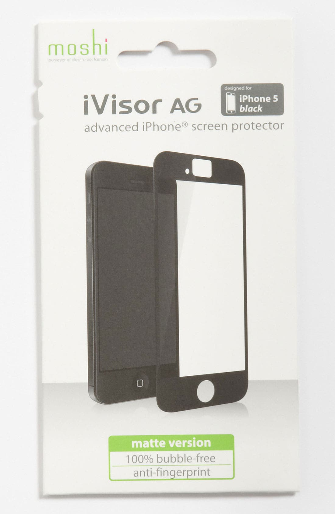 Alternate Image 1 Selected - Moshi 'iVisor AG' iPhone 5 Screen Protector