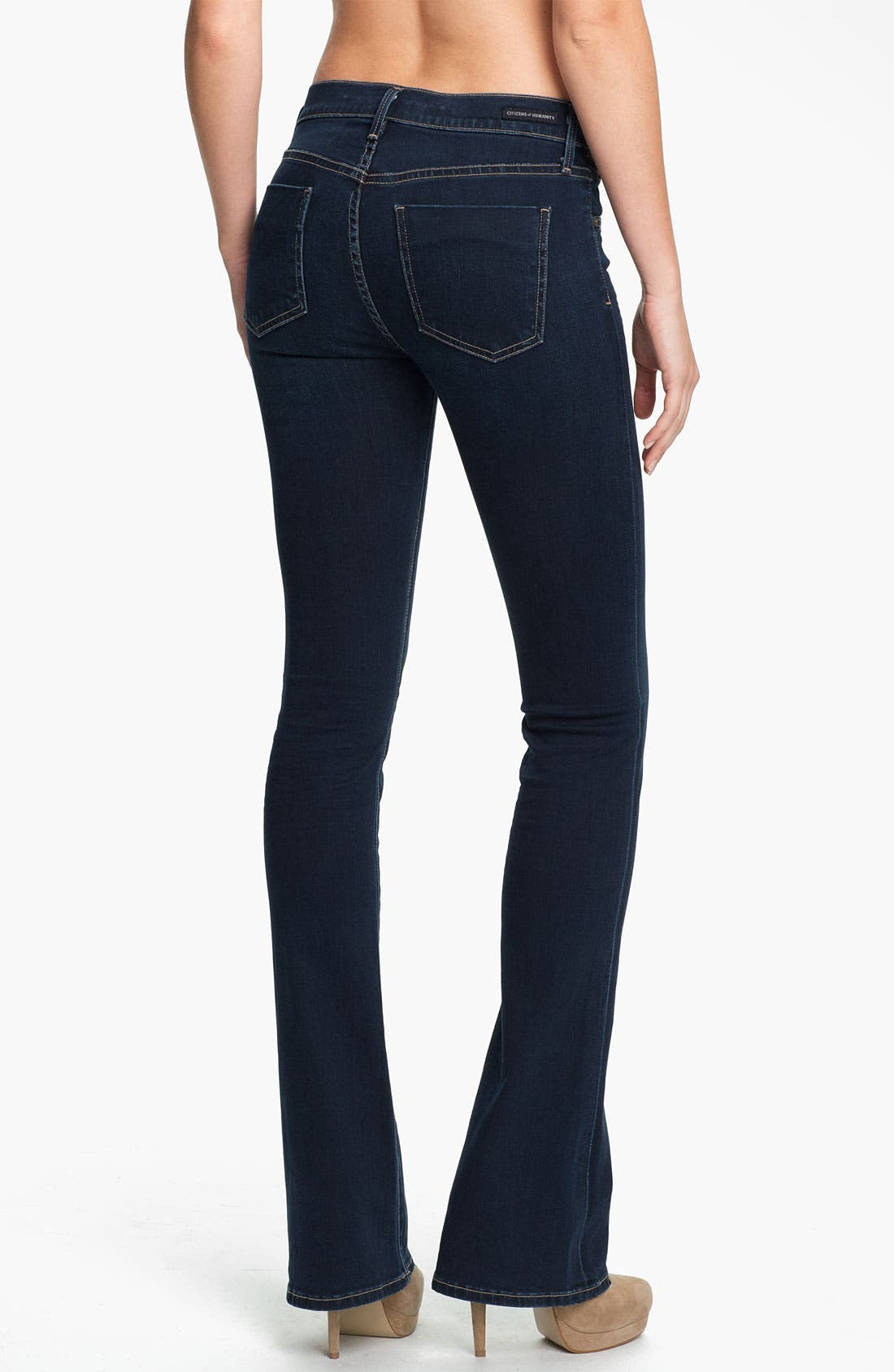 Alternate Image 2  - Citizens of Humanity 'Emmanuelle' Slim Bootcut Jeans (Starry)