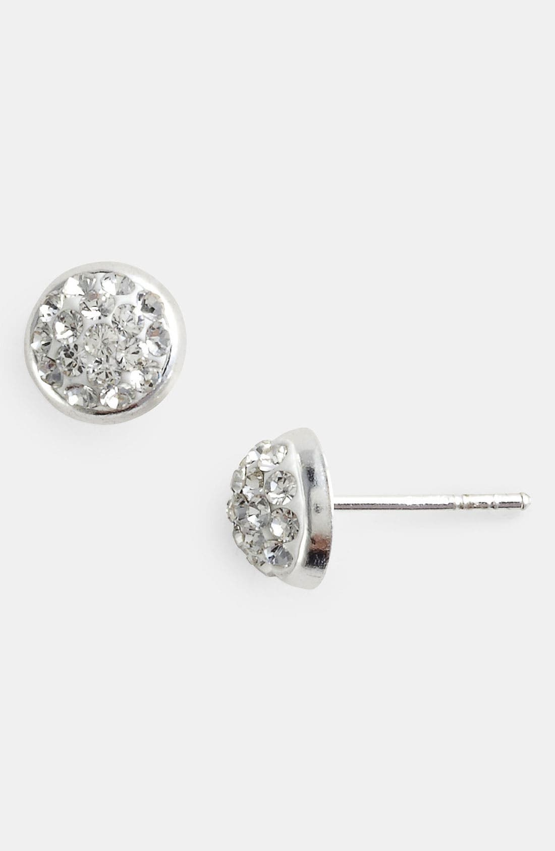 Alternate Image 1 Selected - Tomas Pavé Dome Sterling Silver Stud Earrings
