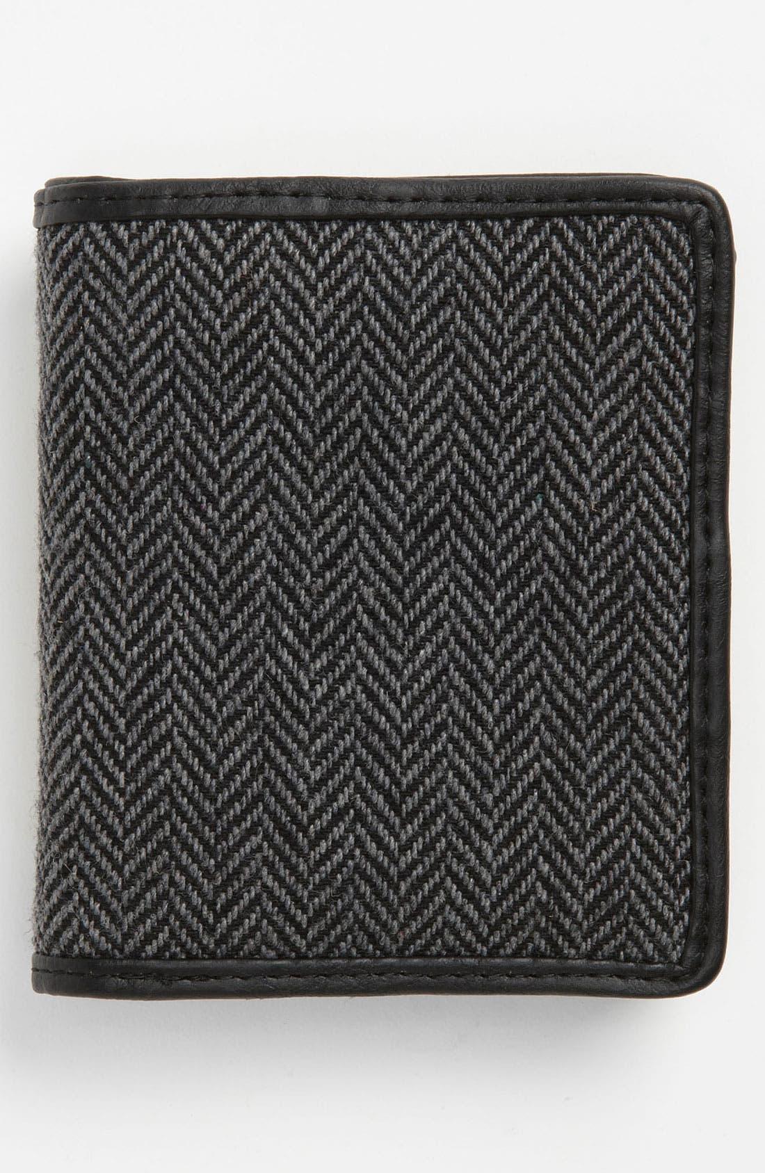 Alternate Image 2  - Topman Herringbone Wallet