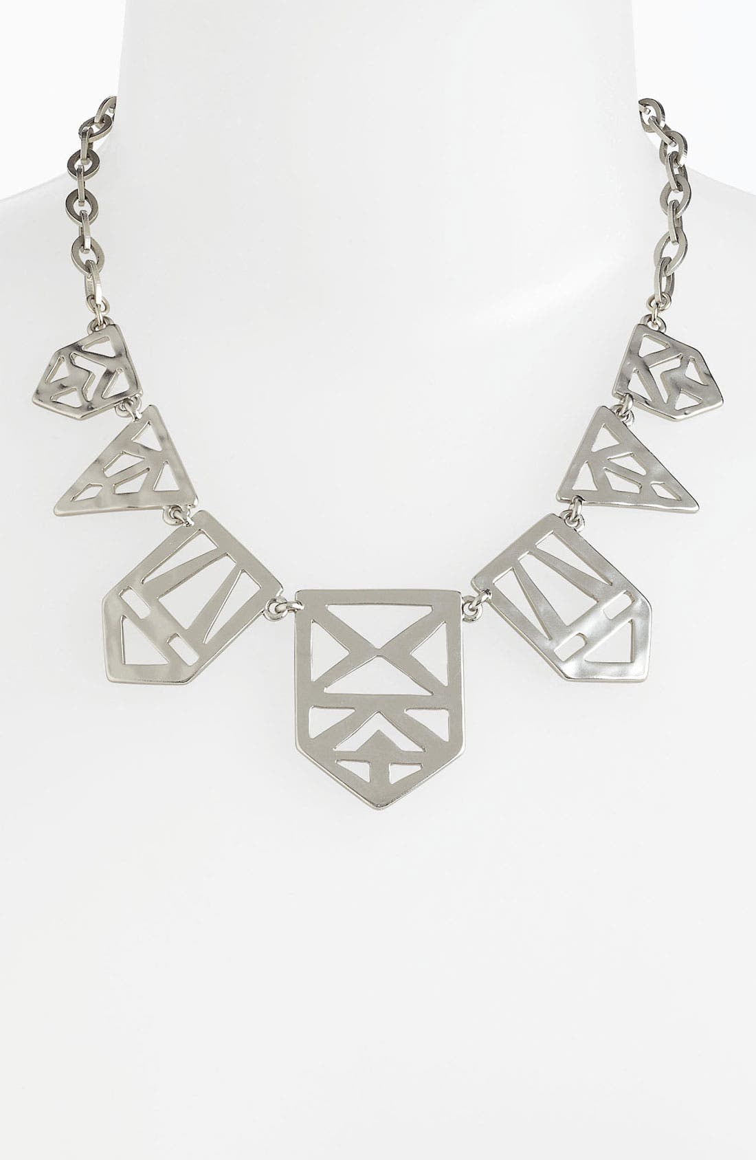 Alternate Image 1 Selected - Nordstrom Tribal Cutout Frontal Necklace