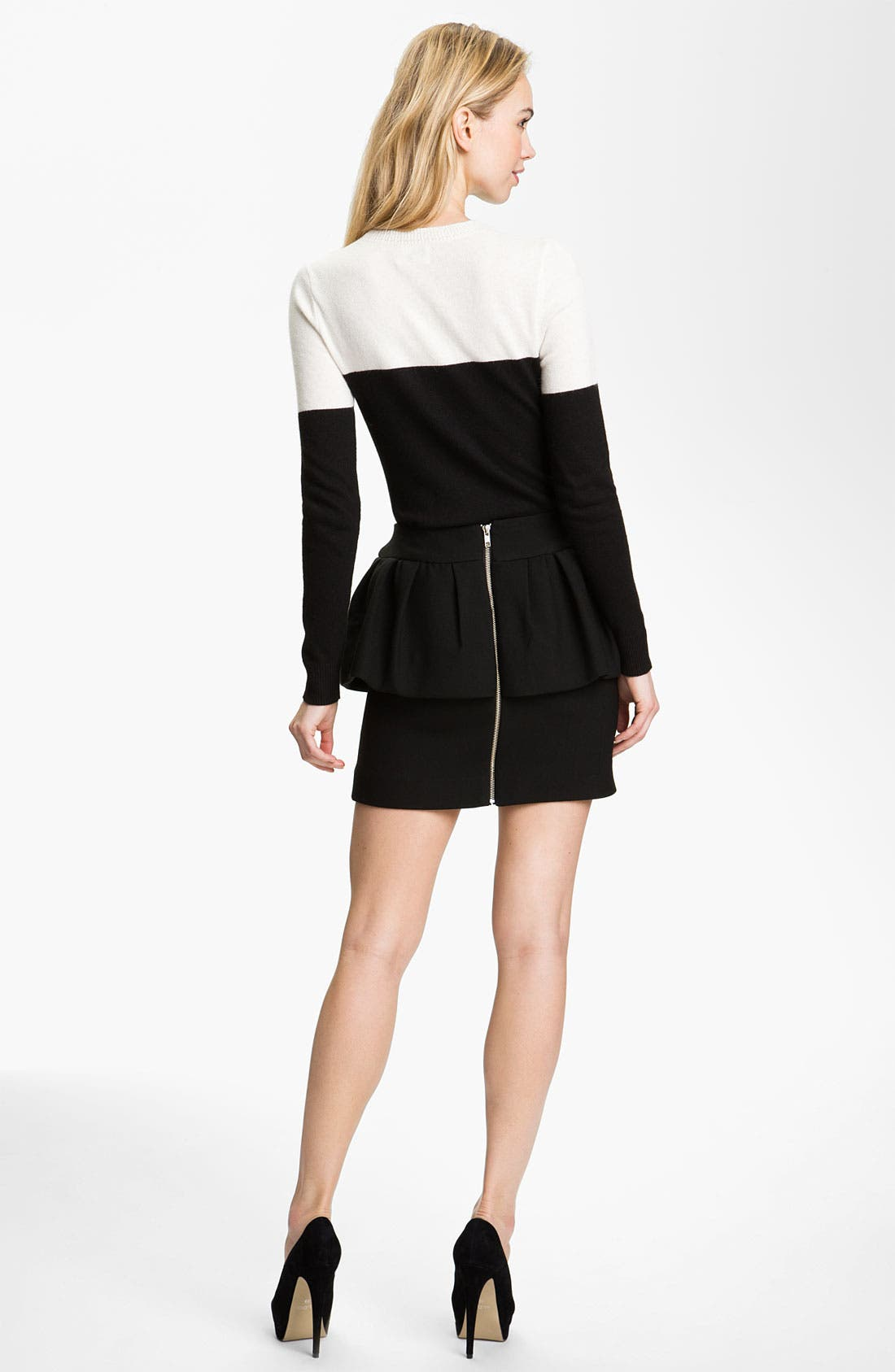 Alternate Image 4  - Milly 'Laurel' Peplum Skirt