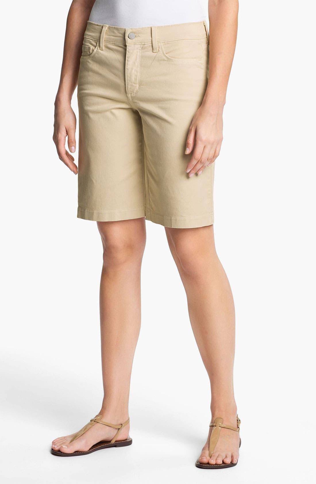 Main Image - NYDJ 'Helen' Stretch Denim Shorts