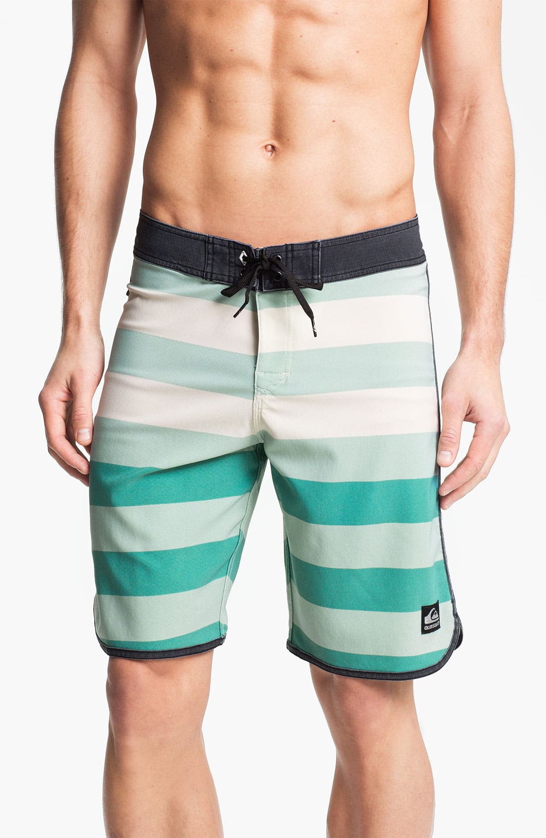 Alternate Image 1 Selected - Quiksilver 'Cypher Brigg' Scalloped Board Shorts