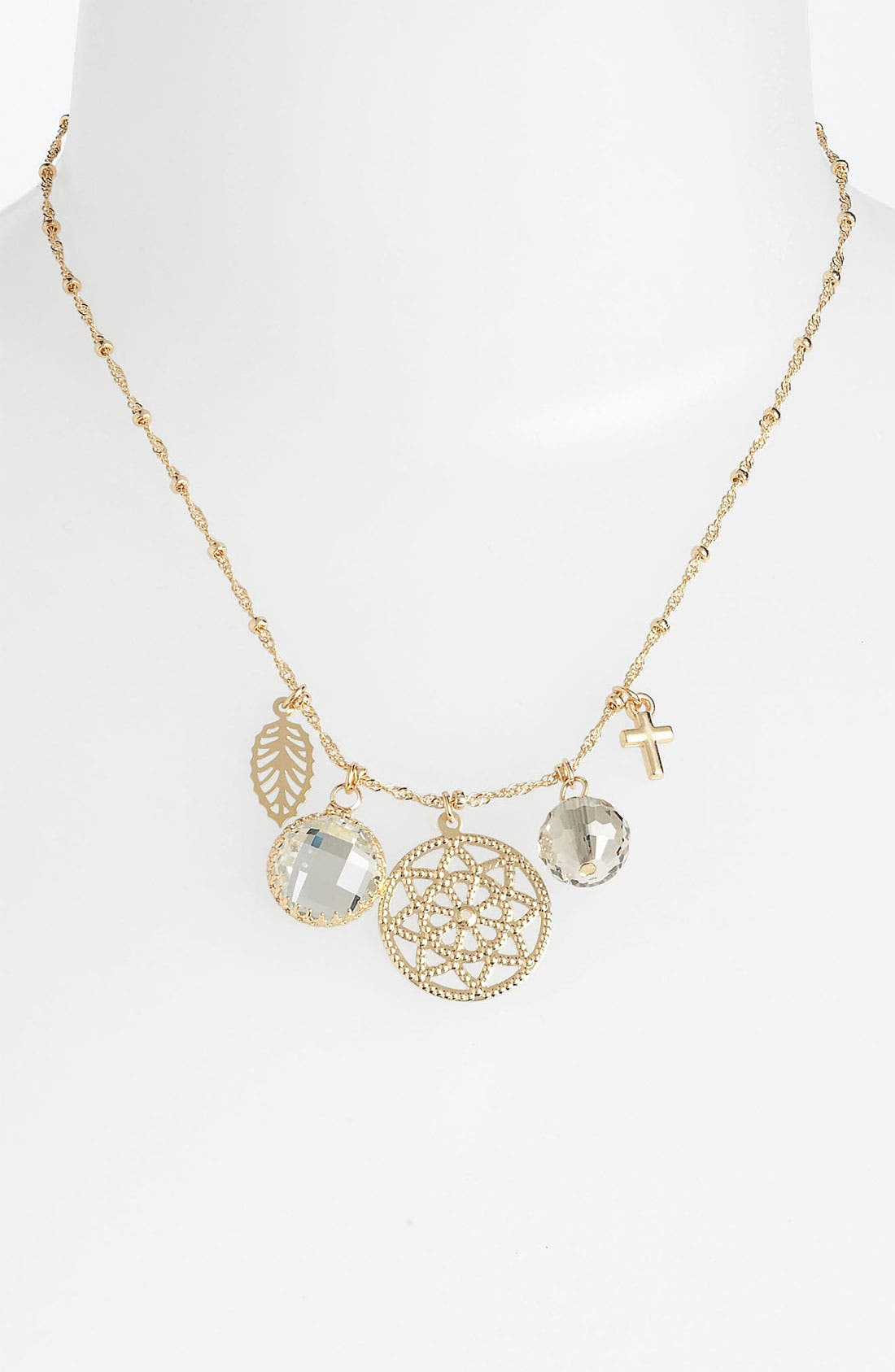 Alternate Image 1 Selected - Nordstrom 'Treasures' Cluster Pendant Necklace (Special Purchase)