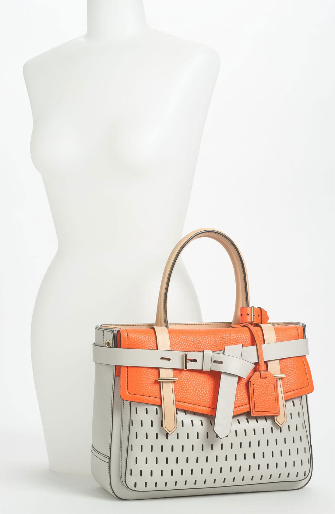 Alternate Image 2  - Reed Krakoff 'Boxer' Perforated Leather Satchel
