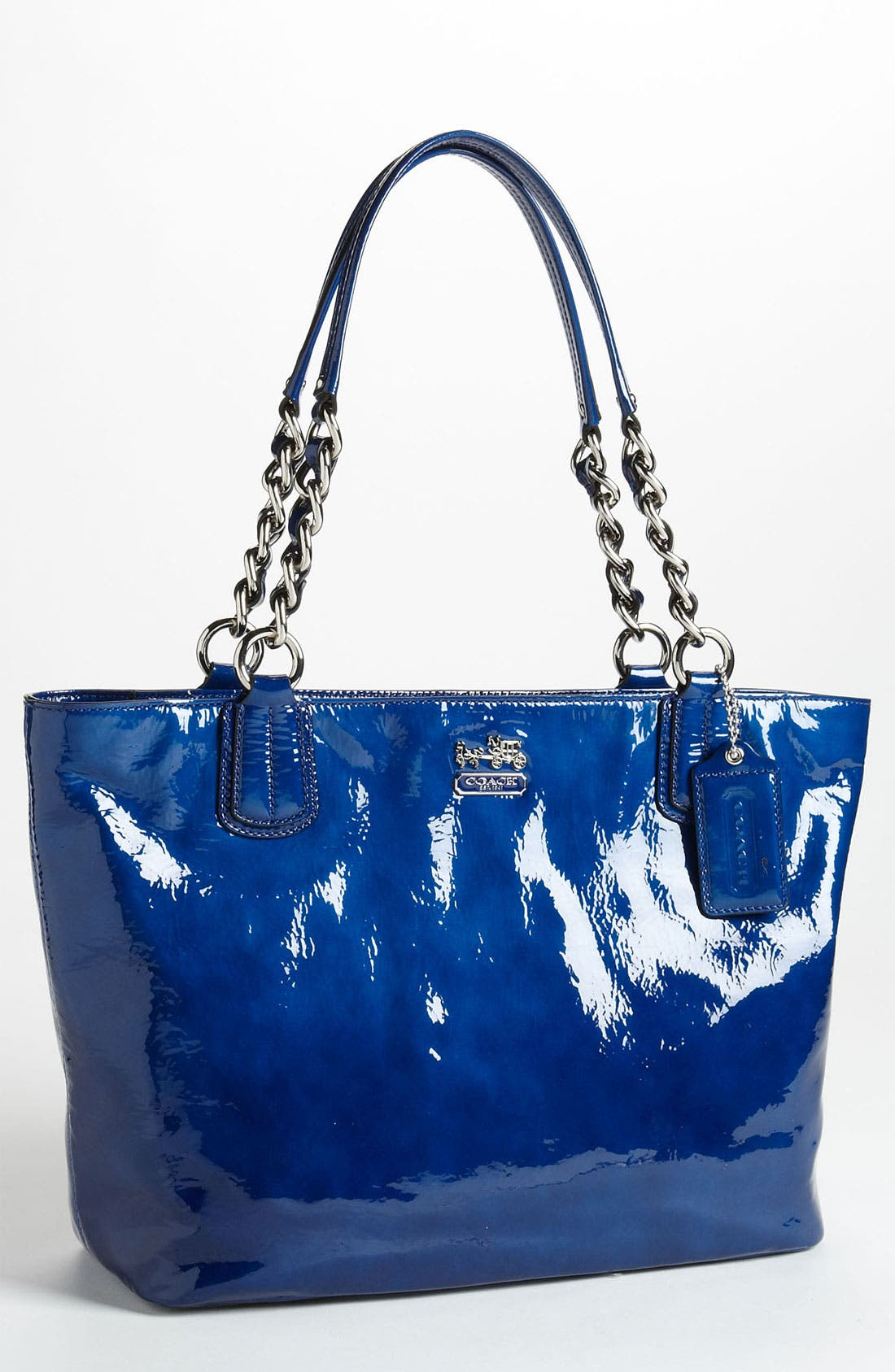 Alternate Image 1 Selected - COACH 'Madison' Patent Leather Tote