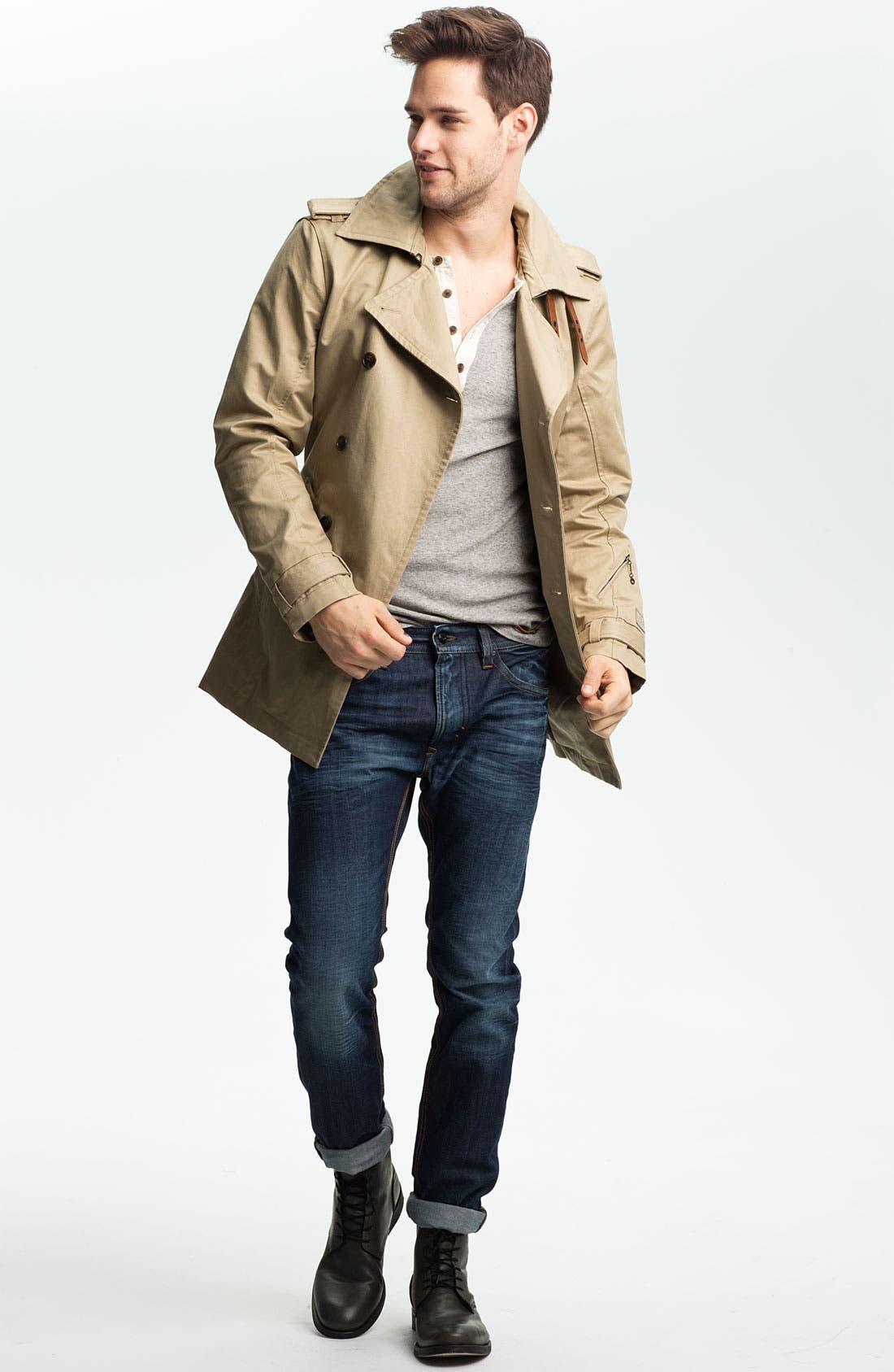 Alternate Image 5  - DIESEL® 'Thavar' Slim Skinny Leg Jeans (0806U)