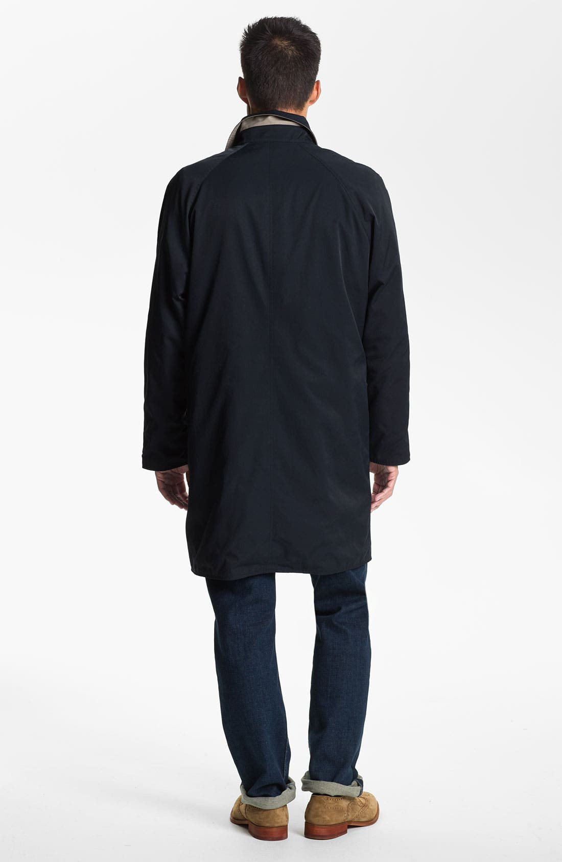 Alternate Image 7  - Façonnable Reversible Trench Coat