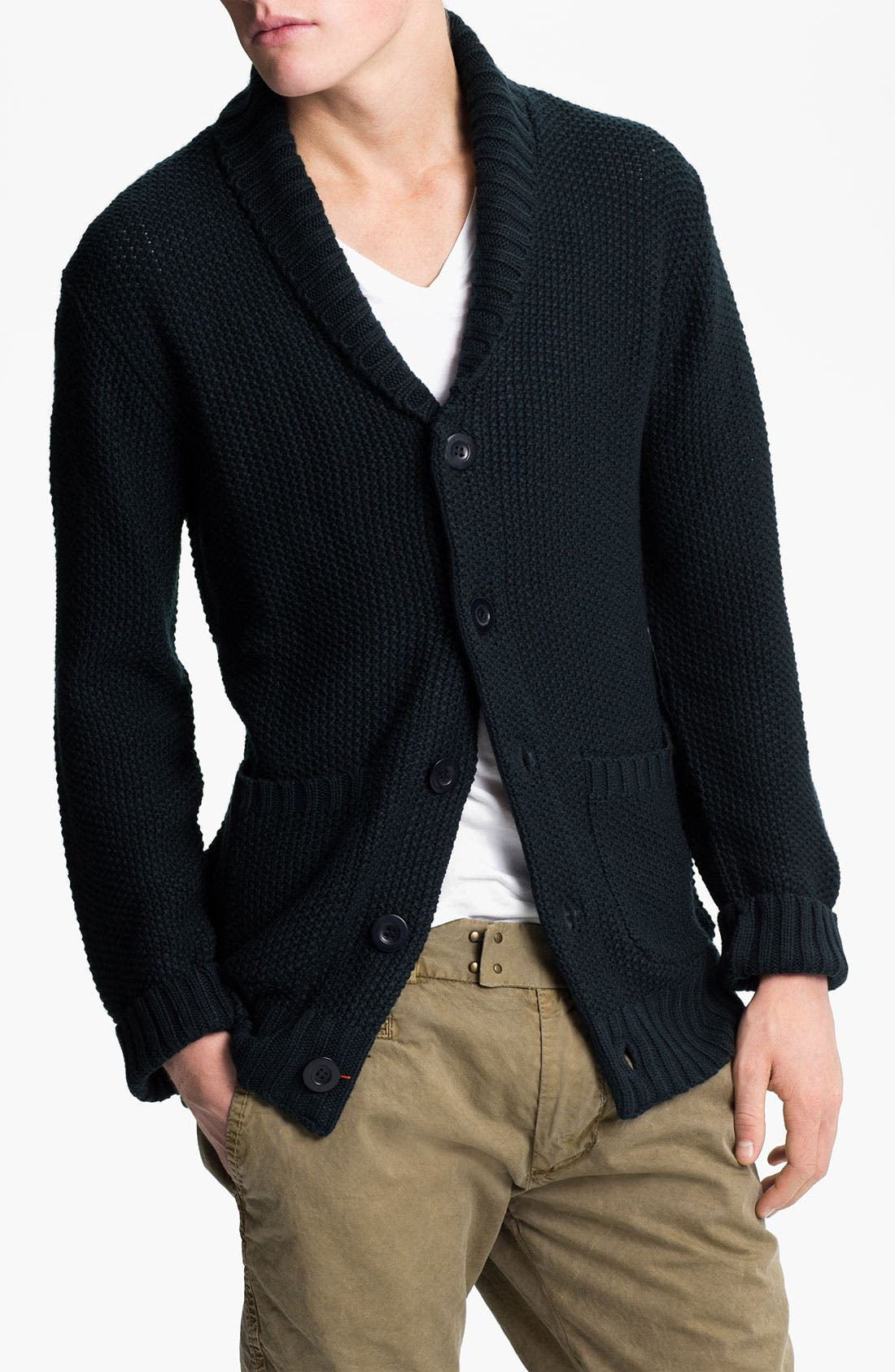 Alternate Image 1 Selected - Obey 'Carver' Shawl Collar Cardigan