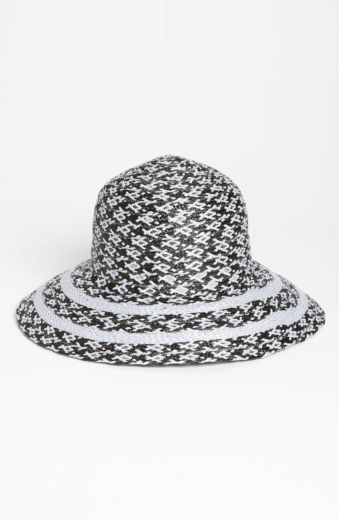 Alternate Image 1 Selected - Nordstrom 'Diamond' Raffia Hat