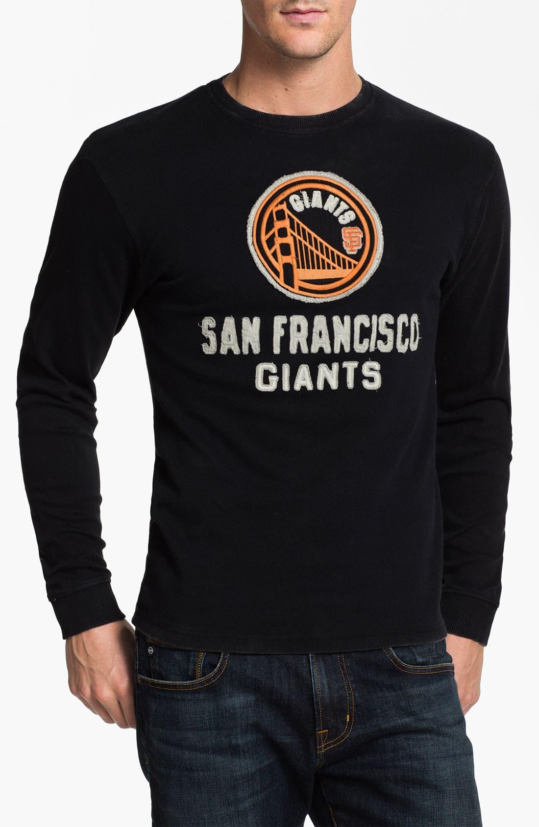 Main Image - Red Jacket 'San Francisco Giants - Team City' Long Sleeve T-Shirt
