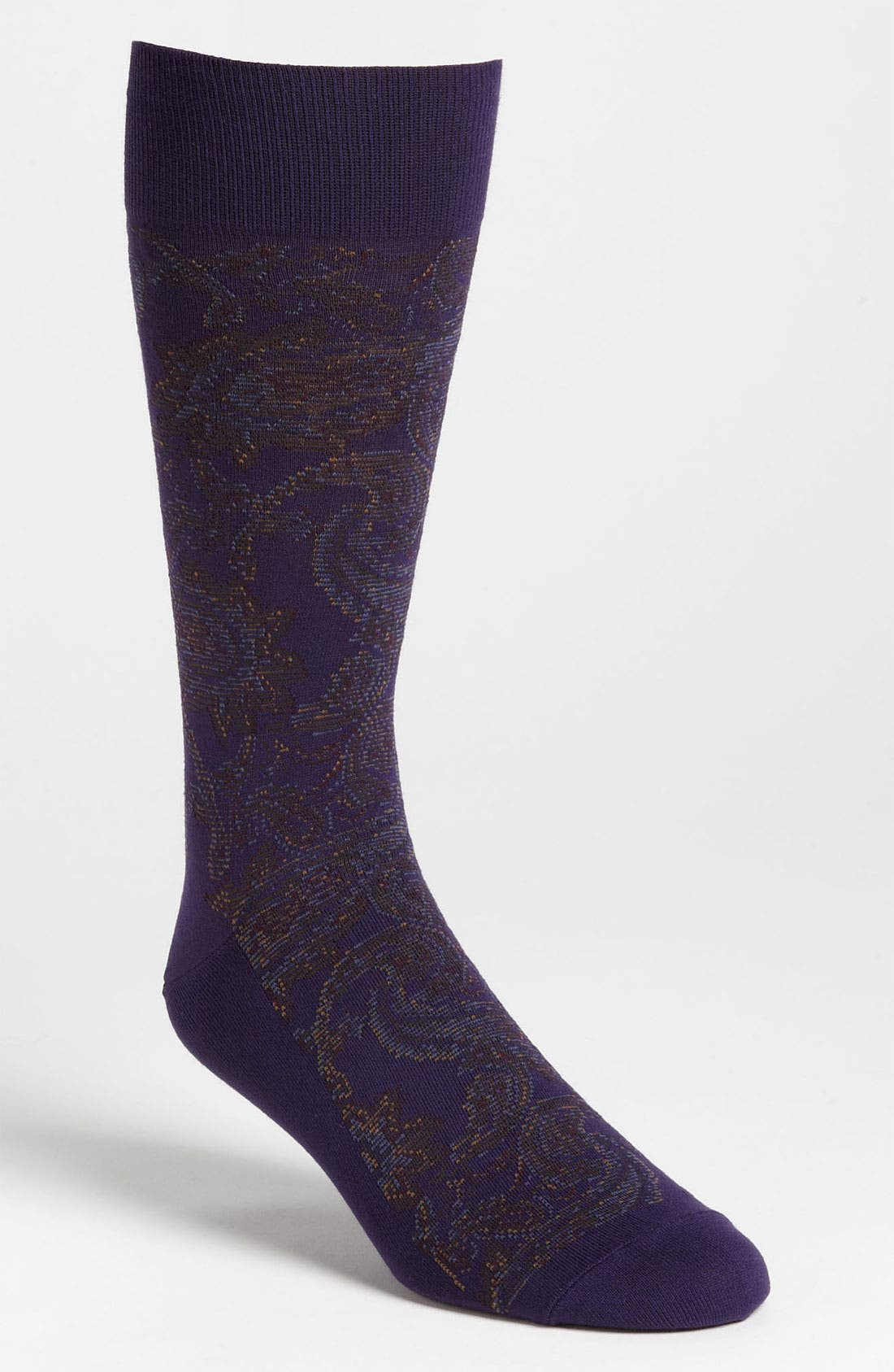 Alternate Image 1 Selected - Polo Ralph Lauren Paisley Socks