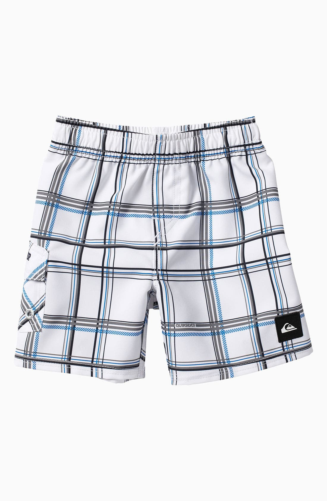 Alternate Image 1 Selected - Quiksilver 'Paid In Full' Volley Swim Shorts (Little Boys)