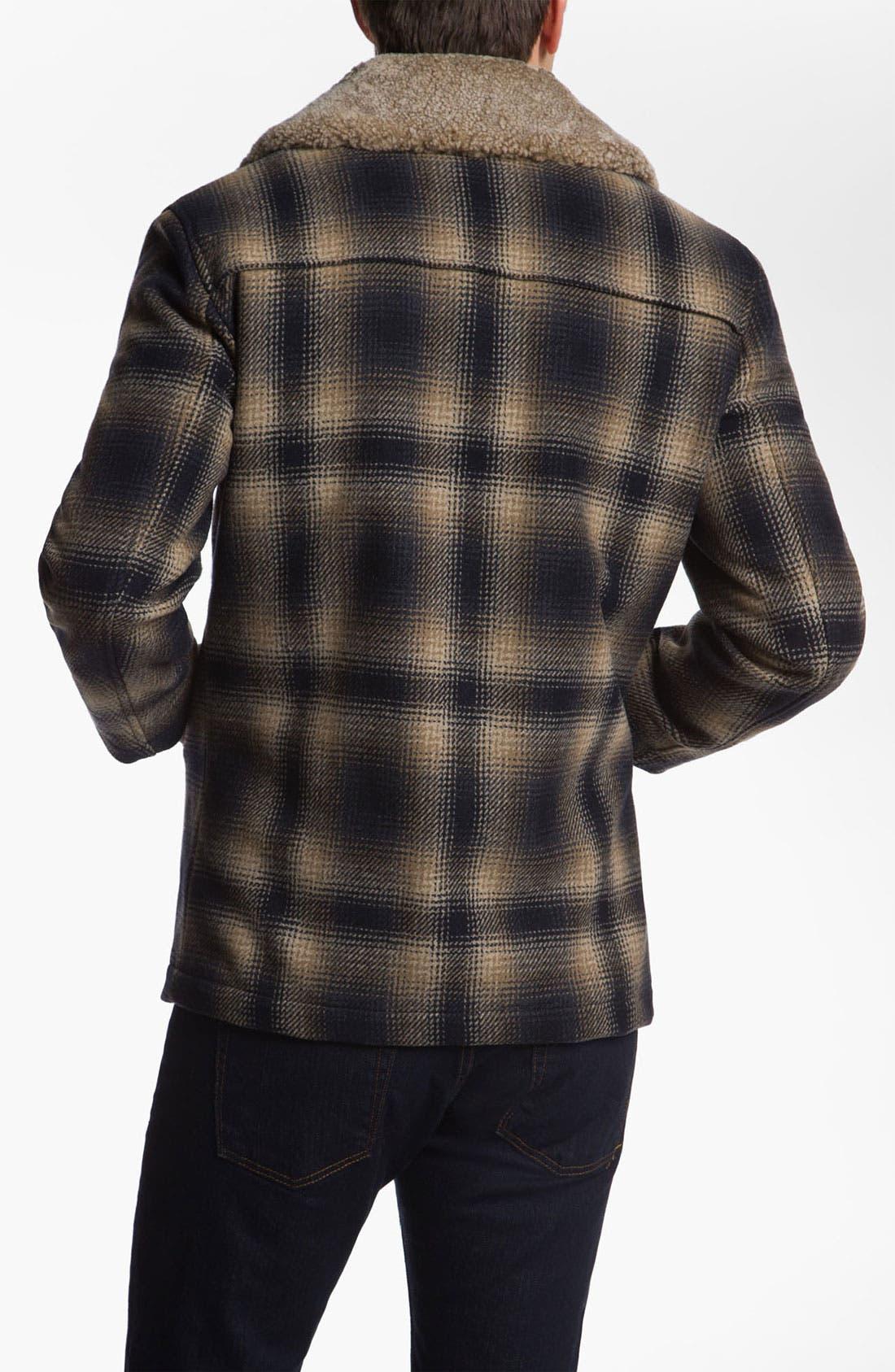 Alternate Image 2  - Pendleton Shearling Collar Jacket