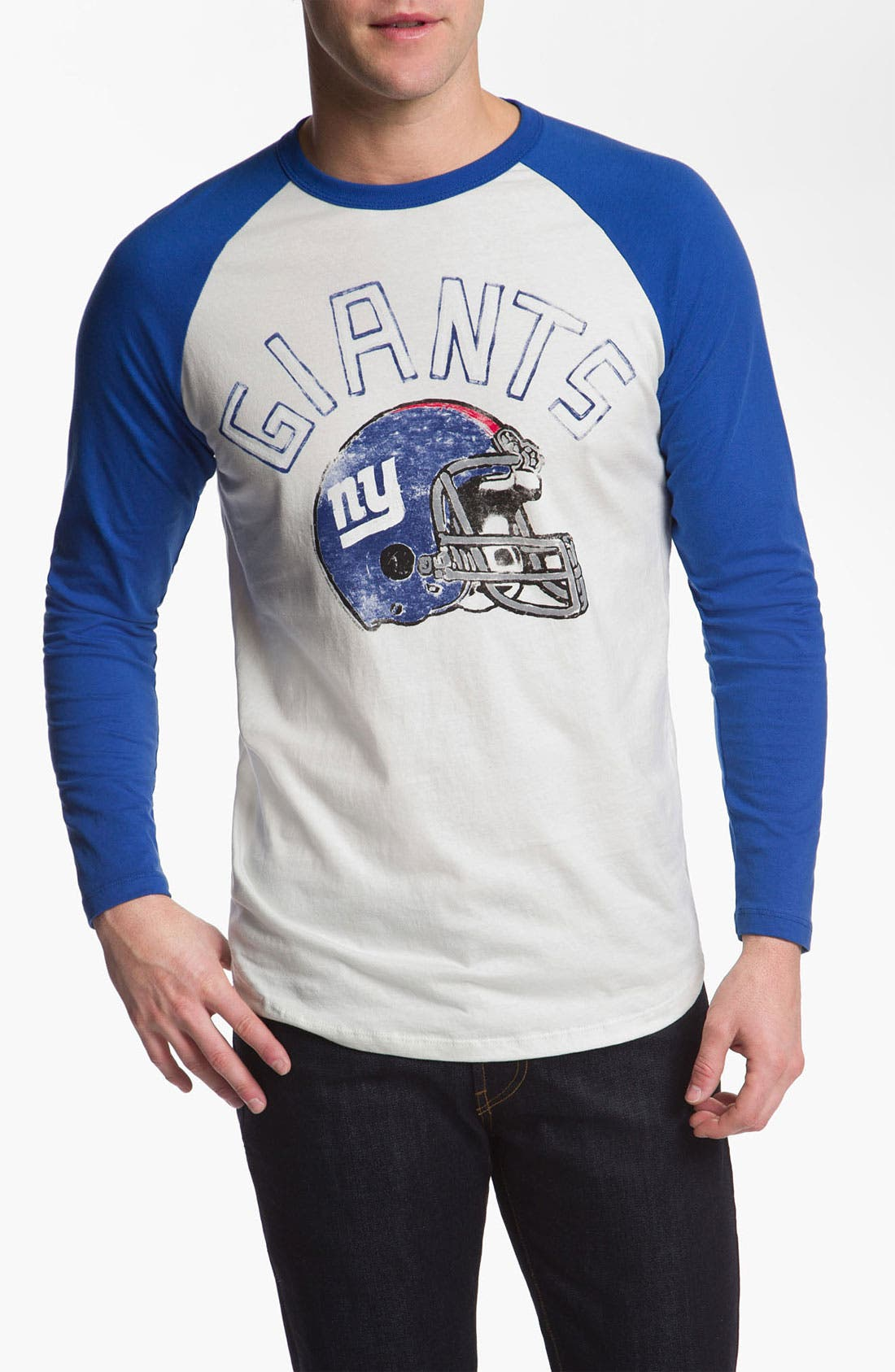 Alternate Image 1 Selected - Junk Food 'New York Giants' Raglan Sleeve T-Shirt