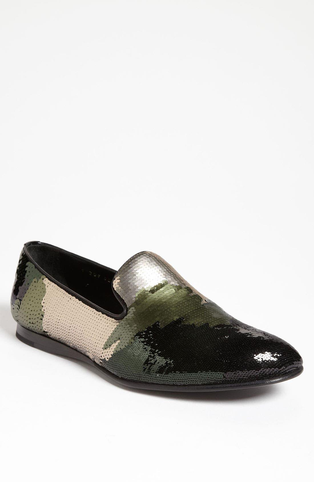 Alternate Image 1 Selected - Prada Sequin Slipper