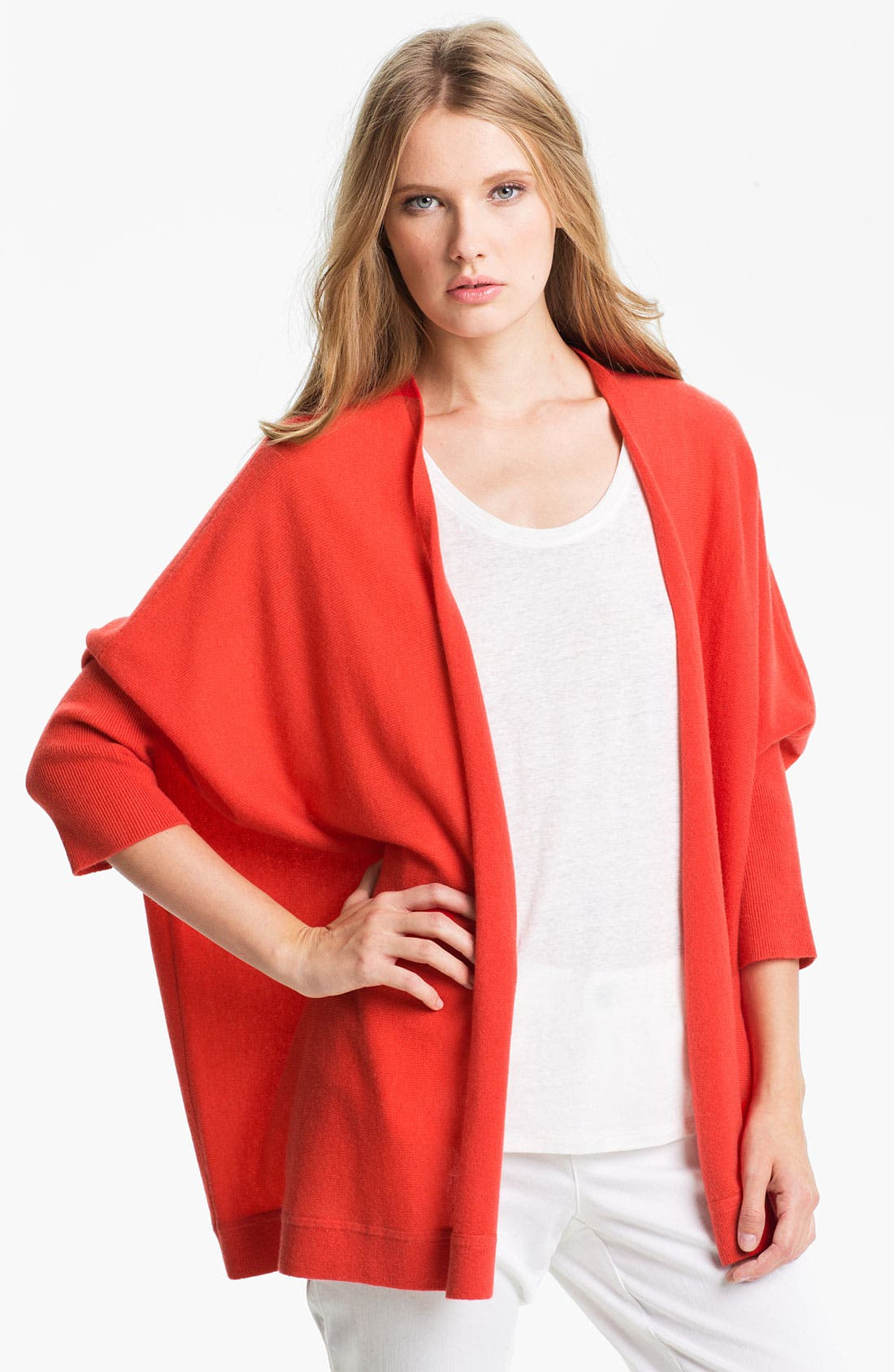 Alternate Image 1 Selected - Nordstrom Collection Oversize Cashmere Cardigan