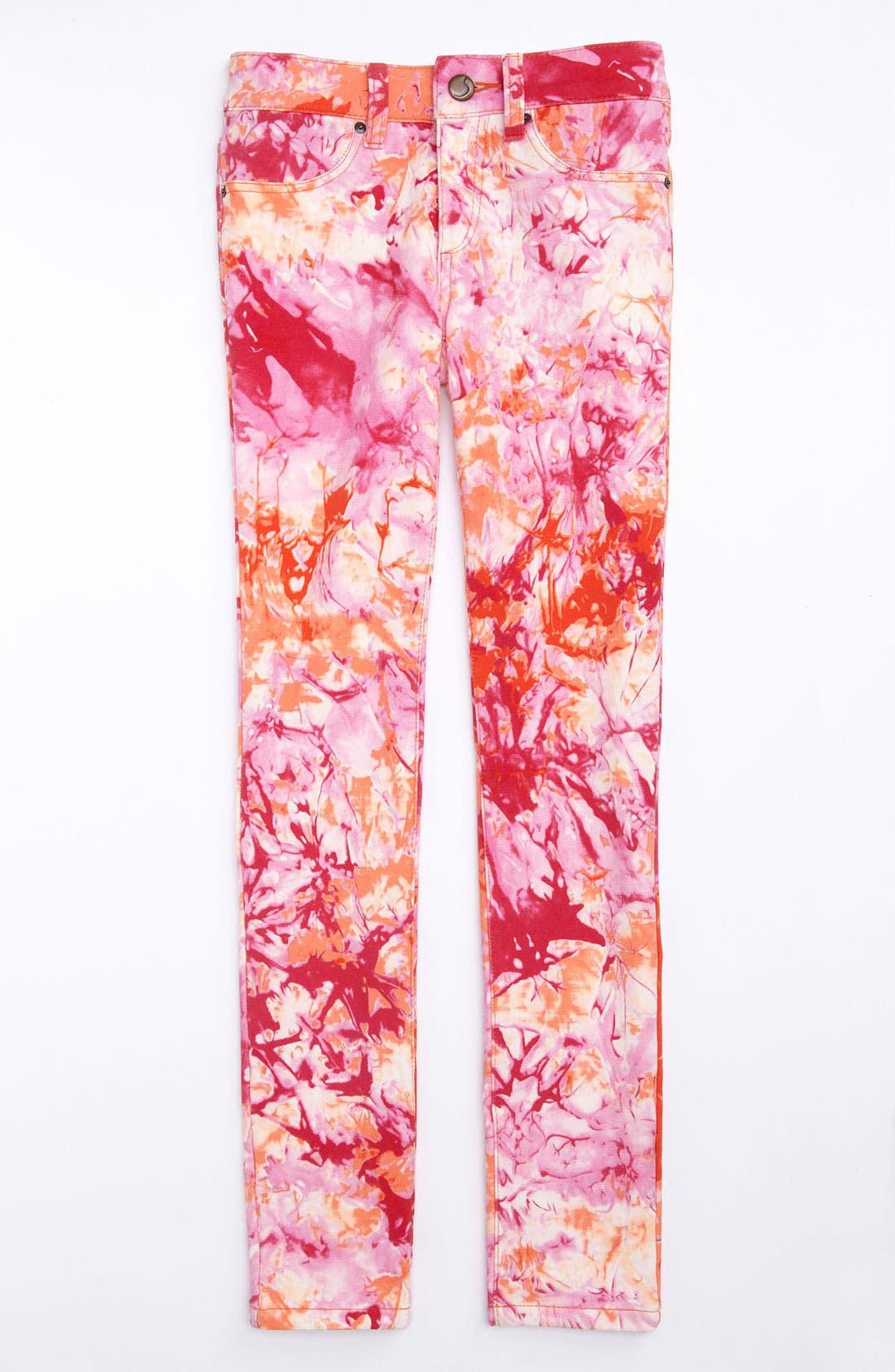 Alternate Image 2  - Joe's Tie Dye Denim Leggings (Little Girls)