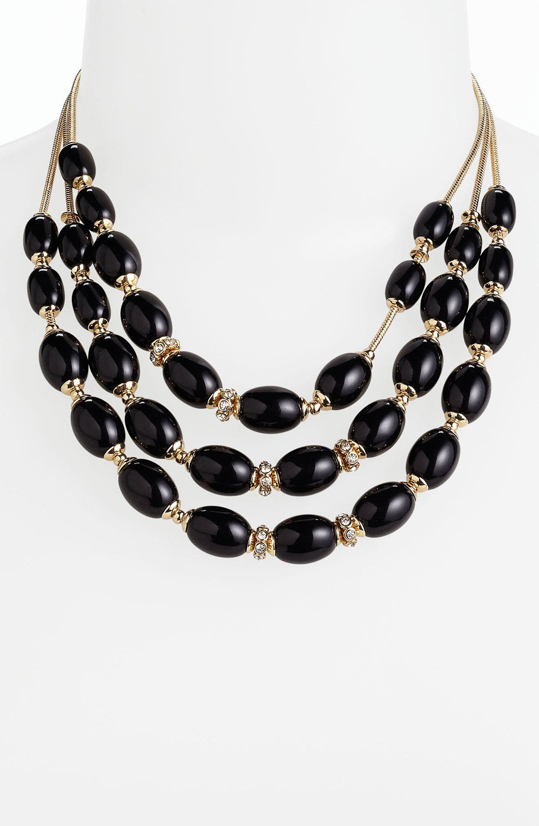 Main Image - Anne Klein 'Alder' Bib Necklace