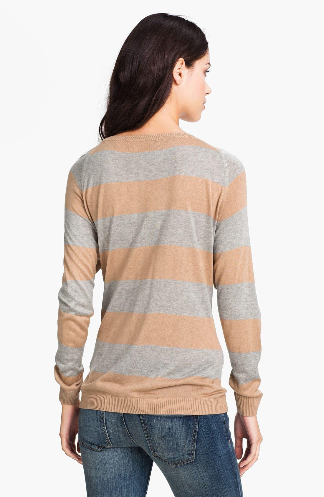 Alternate Image 2  - Haute Hippie Stripe Sweater