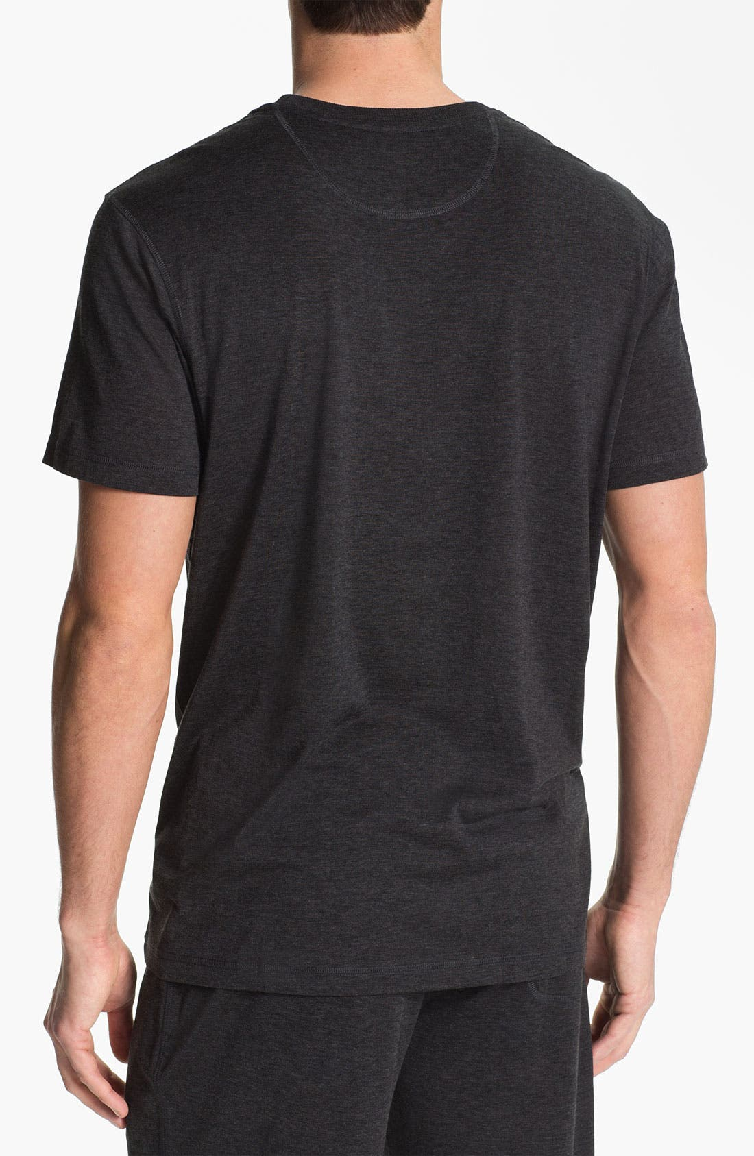 Alternate Image 2  - Daniel Buchler Silk & Cotton T-Shirt