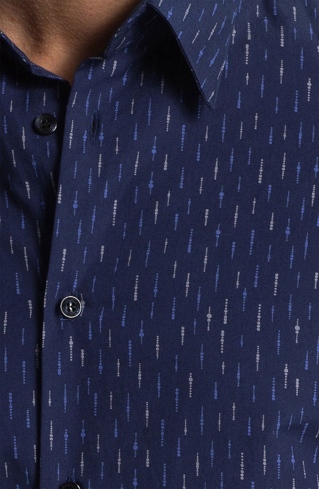 Alternate Image 3  - Versace Trim Fit Sport Shirt