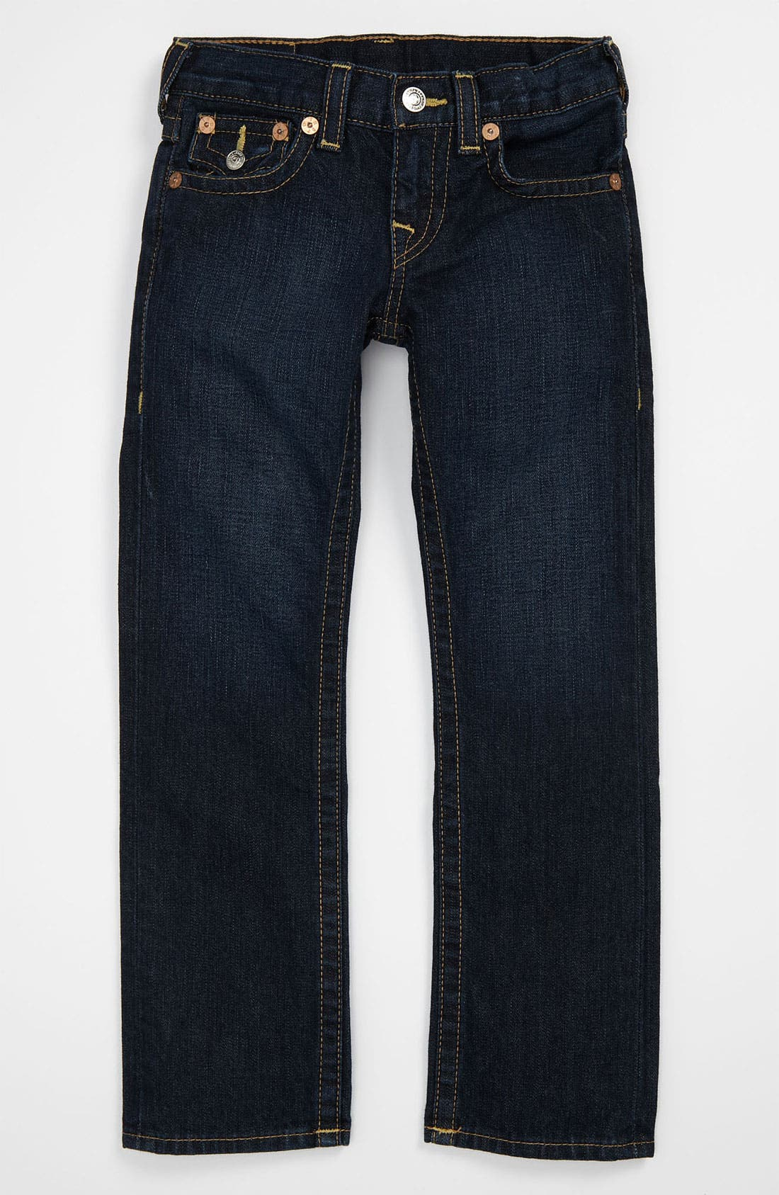 Alternate Image 2  - True Religion Brand Jeans 'Jack' Straight Leg Jeans (Little Boys)