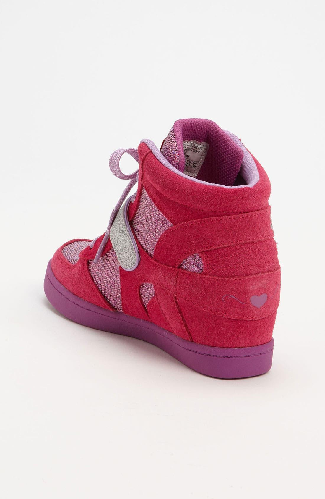 Alternate Image 2  - SKECHERS 'Plus 2' Wedge Sneaker (Little Kid)