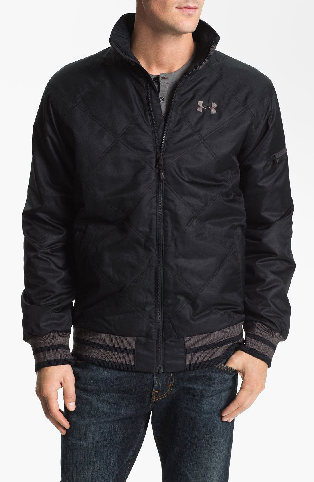 Alternate Image 1 Selected - Under Armour 'Focus Storm' Jacket