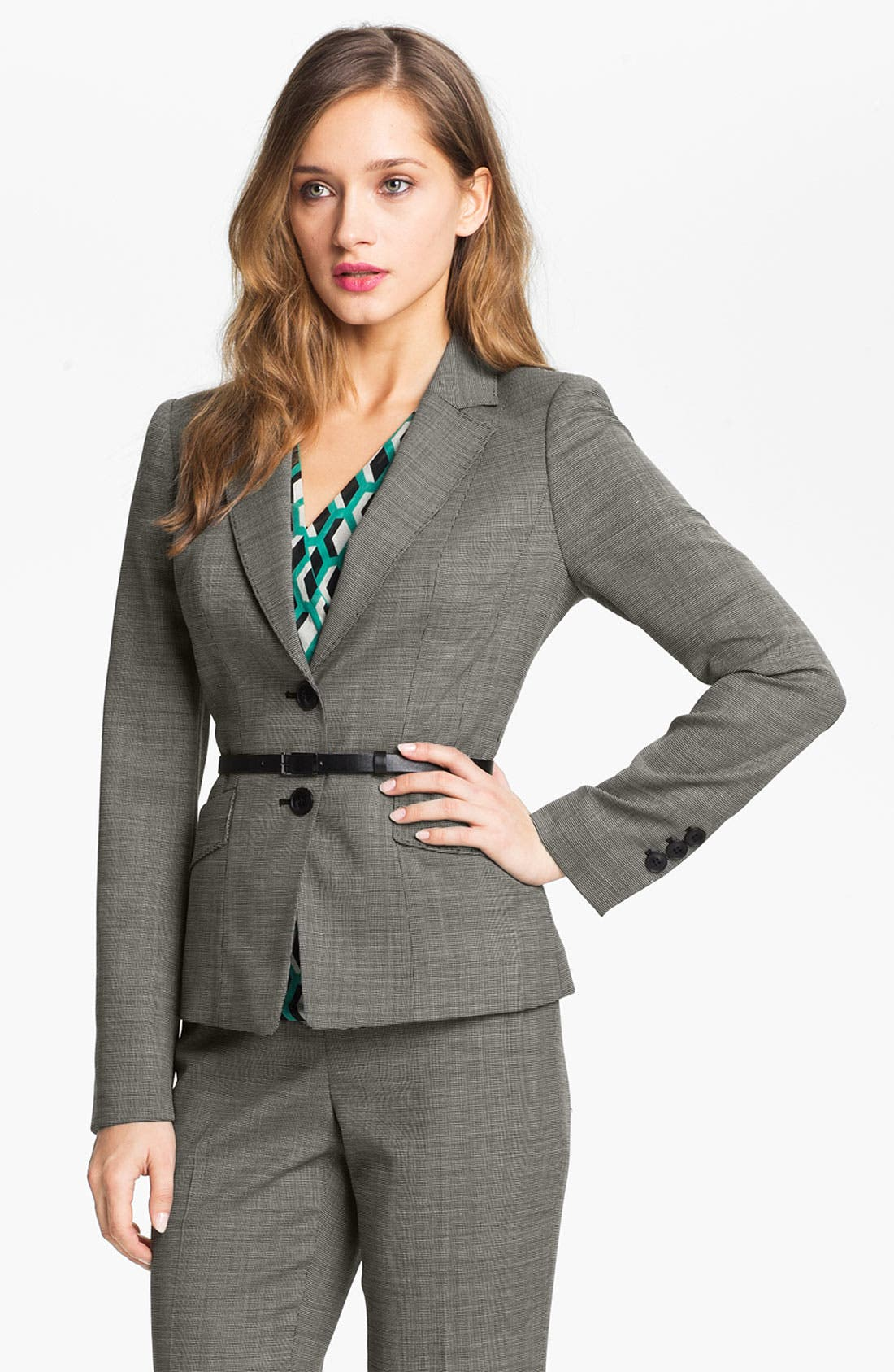 Alternate Image 1 Selected - Classiques Entier® Tropical Wool Jacket