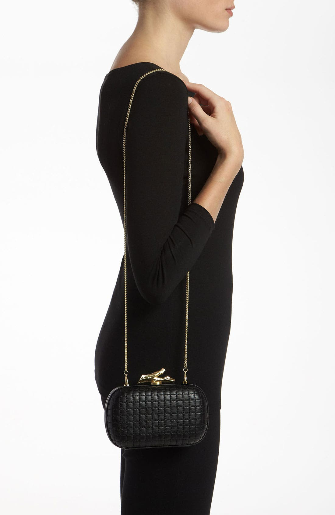 Alternate Image 2  - Diane von Furstenberg 'Lytton' Quilted Leather Clutch