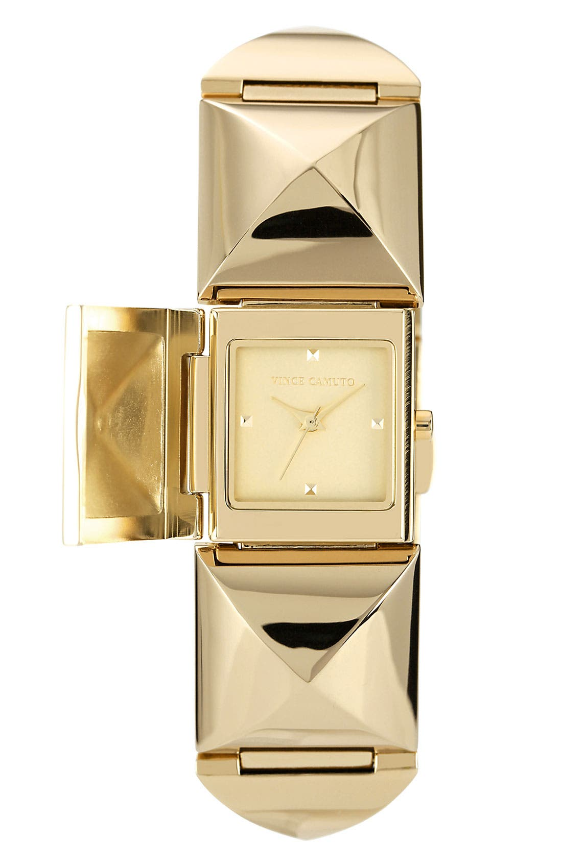 Main Image - Vince Camuto Pyramid Station Bracelet Watch, 25mm