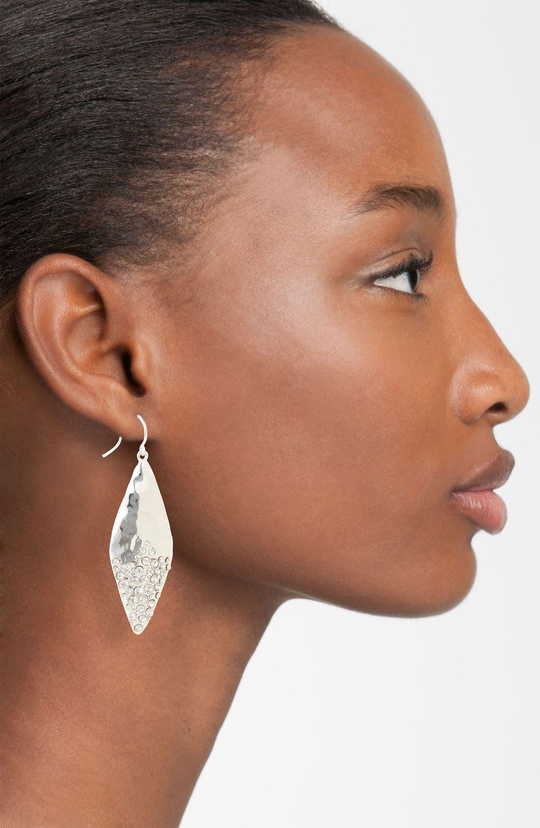 Alternate Image 2  - Nordstrom 'Sand Dollar' Diamond Shape Earrings