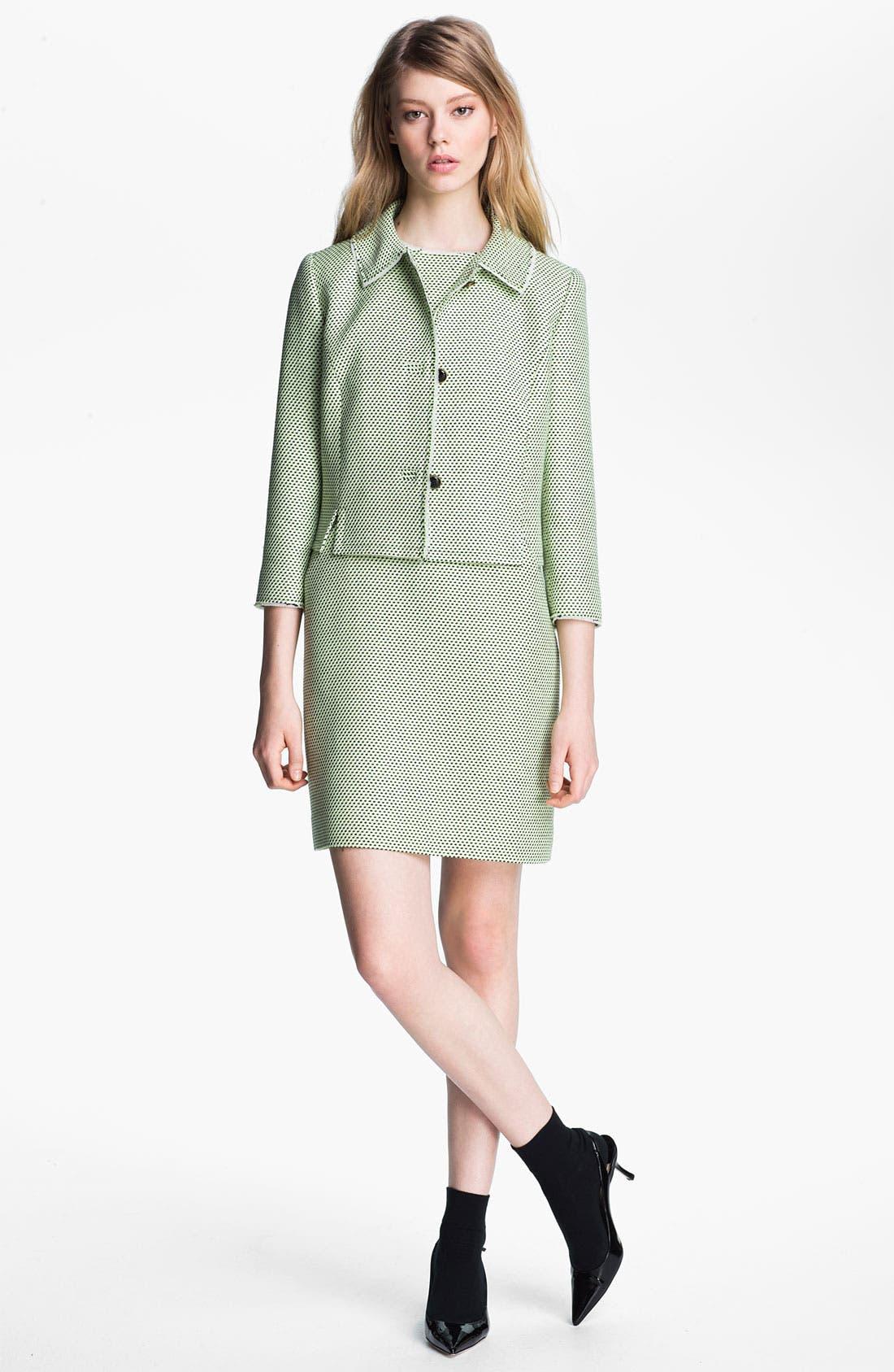 Alternate Image 3  - Miss Wu Modern Weave Shift Dress (Nordstrom Exclusive)
