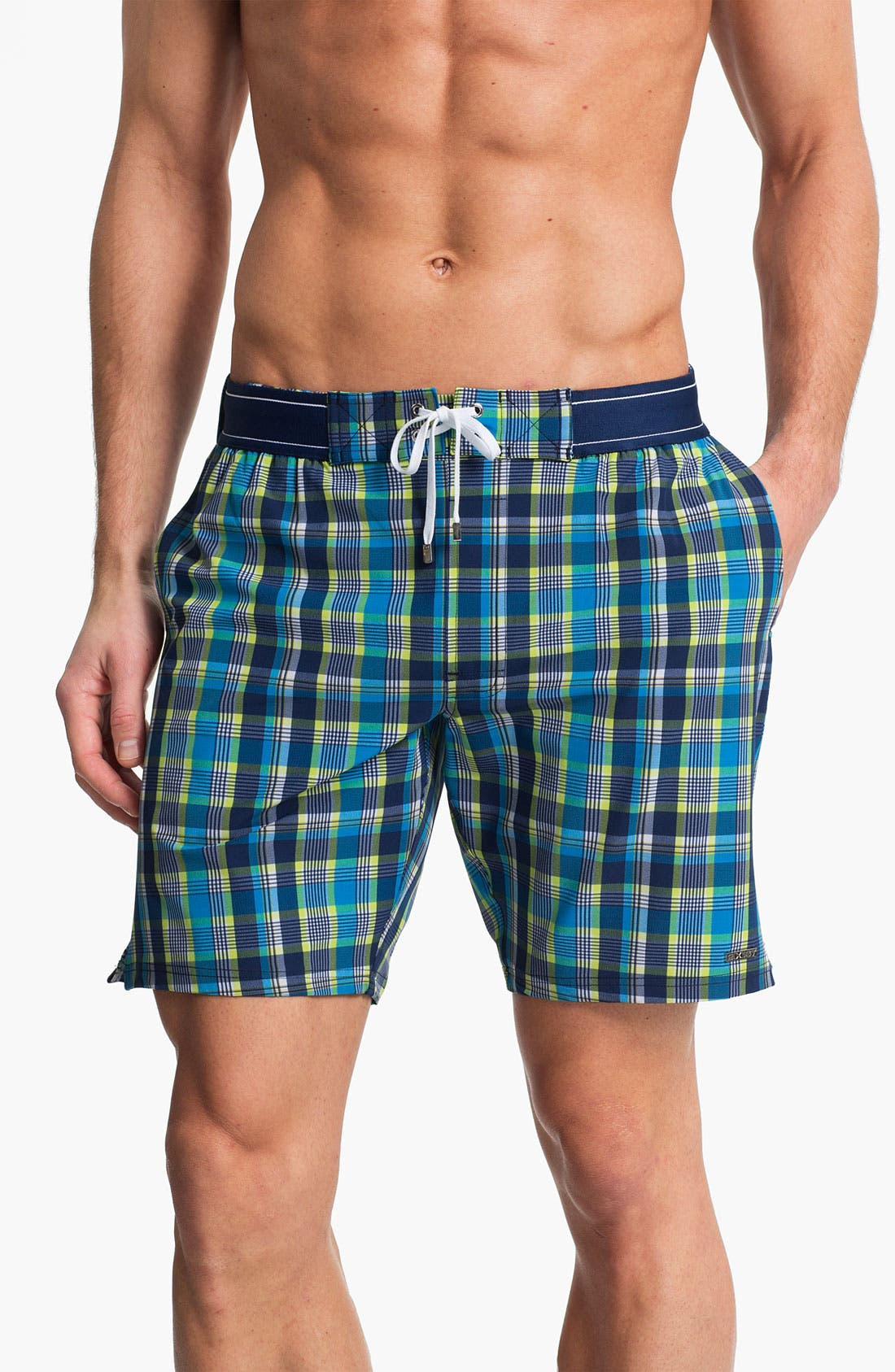 Main Image - 2(x)ist 'Maui' Board Shorts (Online Only)