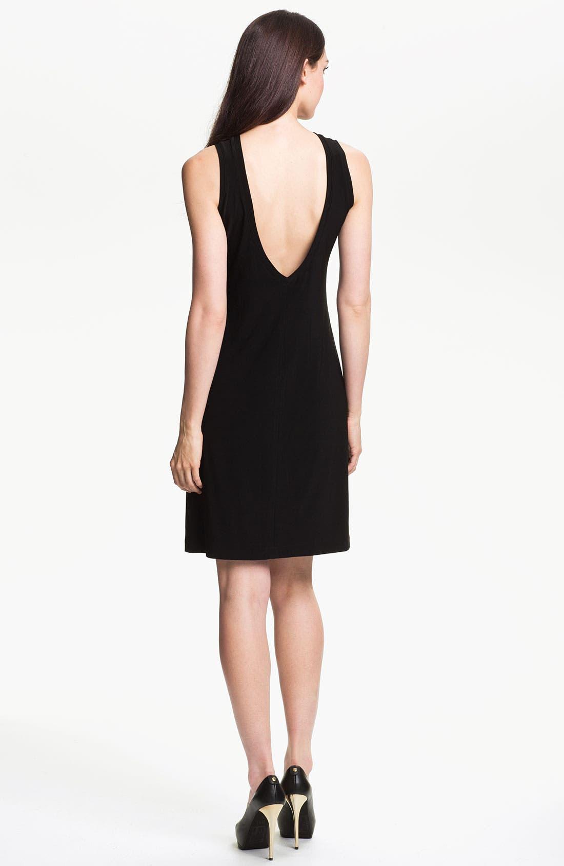 Alternate Image 2  - KAMALIKULTURE V-Back Sheath Dress
