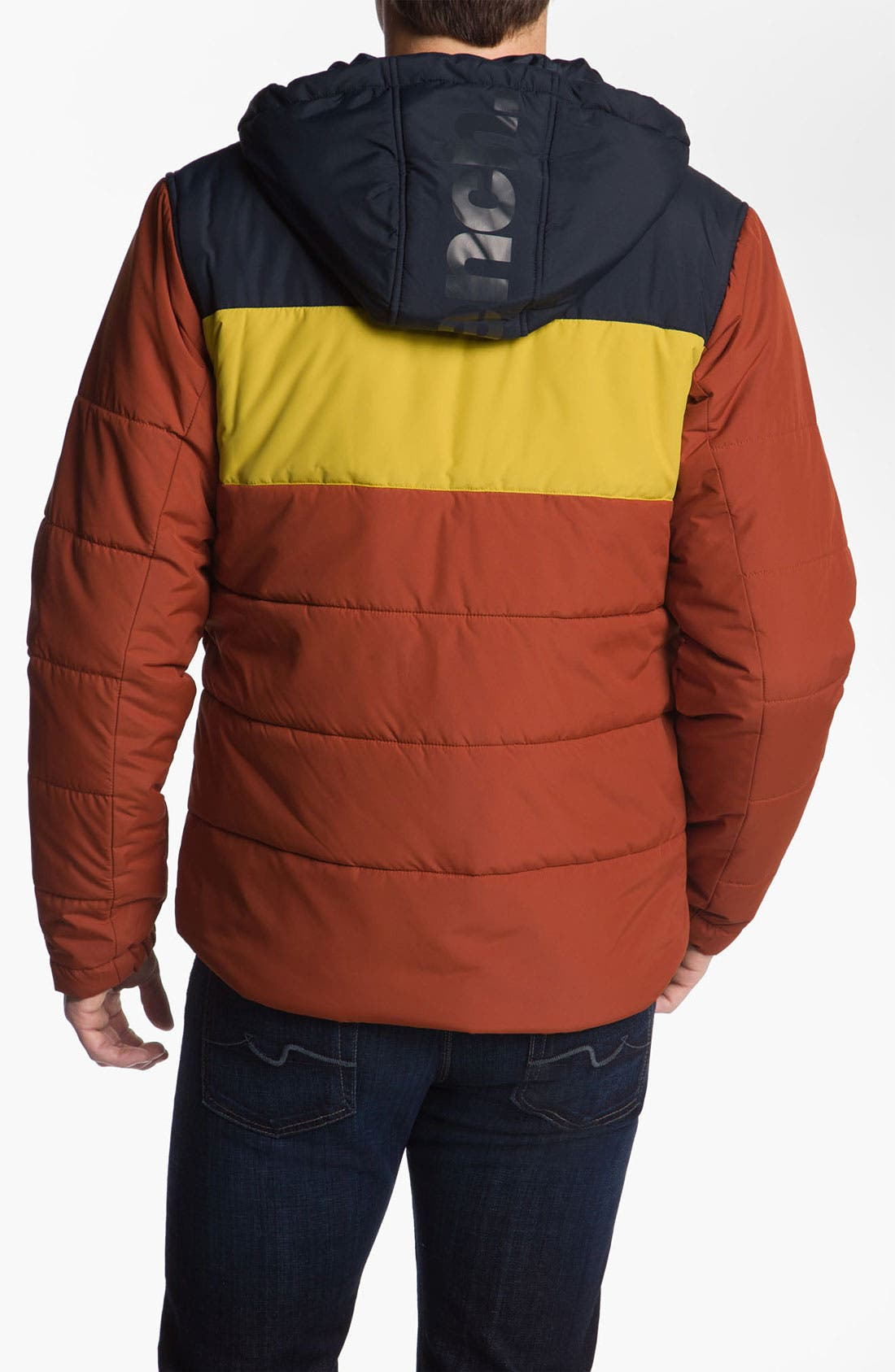 Alternate Image 2  - Bench. 'XOK' Quilted Jacket