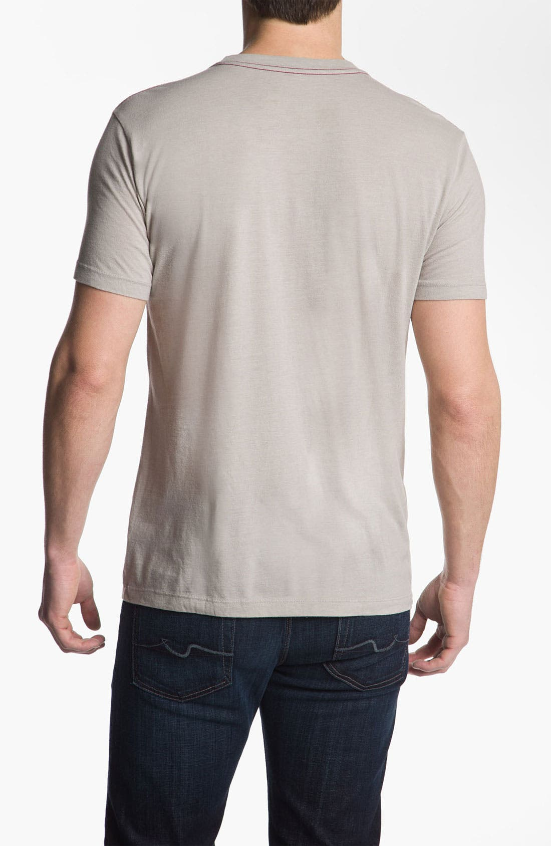 Alternate Image 2  - RVCA 'Construct' Vintage Wash T-Shirt