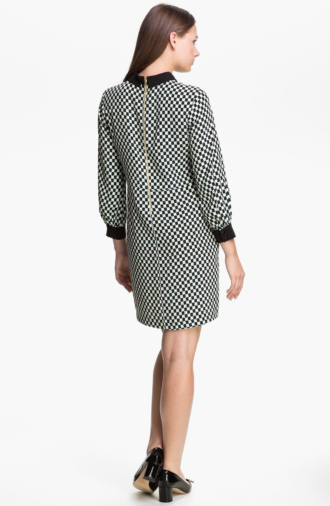 Alternate Image 2  - kate spade new york 'finn' silk shift dress