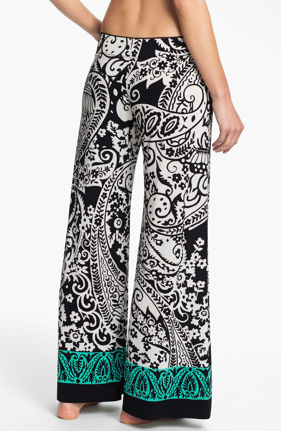 Alternate Image 2  - In Bloom by Jonquil Paisley Border Pants
