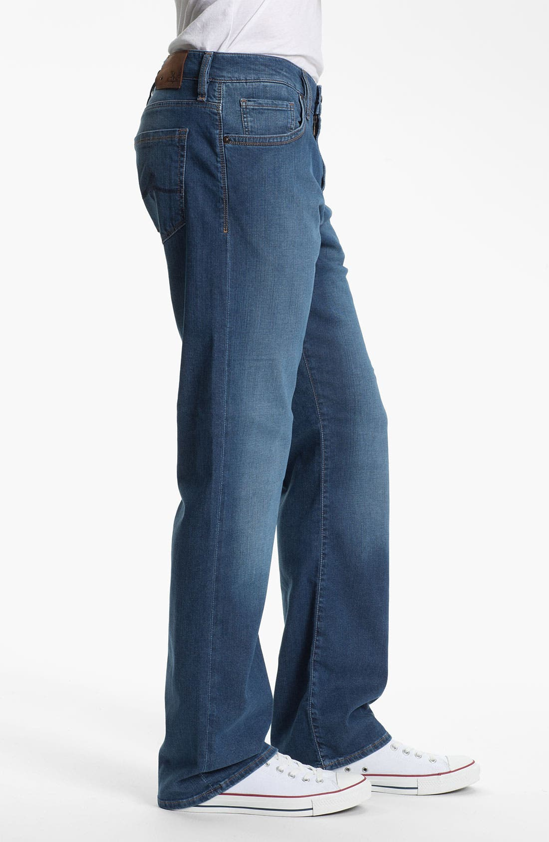 Alternate Image 3  - 34 Heritage 'Courage' Straight Leg Jeans (Mid Cashmere) (Online Exclusive)