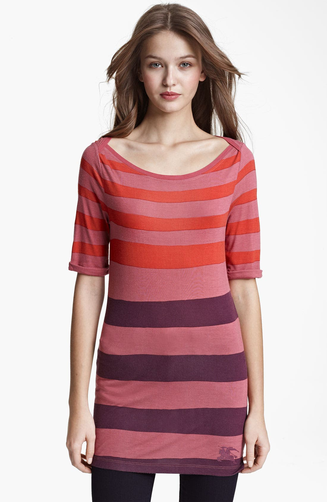 Alternate Image 1 Selected - Burberry Brit Stripe Top (Online Exclusive)